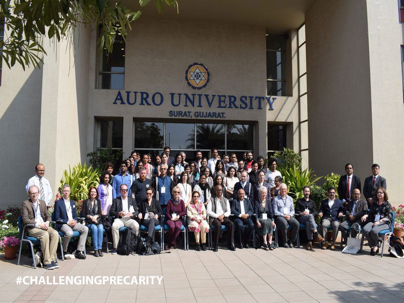 """Challenging Precarity"" international seminar organised by the School of Liberal Arts and Human Sciences, AURO University"