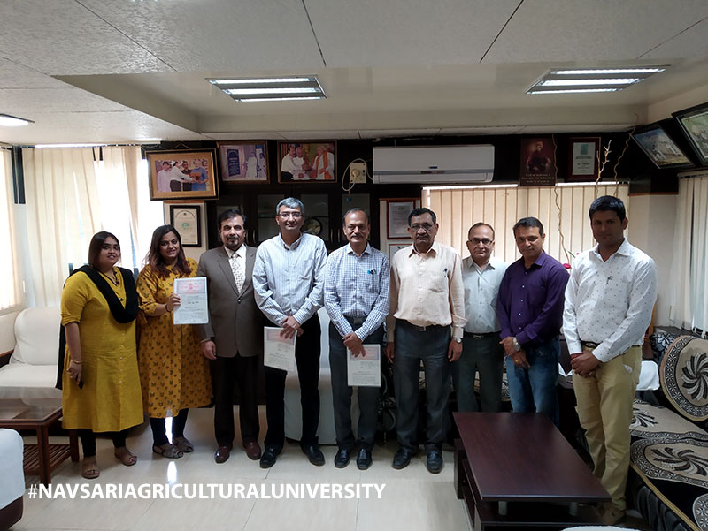 MOU with Navsari Agricultural University, Suratiilab & Syncoro for AgriTech & FoodTech Startups