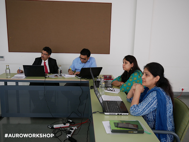 "AIMA Delhi has organized Two Days Workshop - ""Train The Trainer on BizLab"