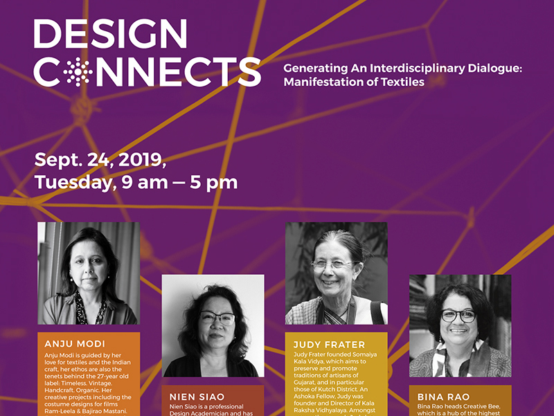 New Upcoming Event Design Connects of School of Design