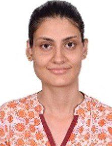 Aditi team member Auro University Surat Gujarat India