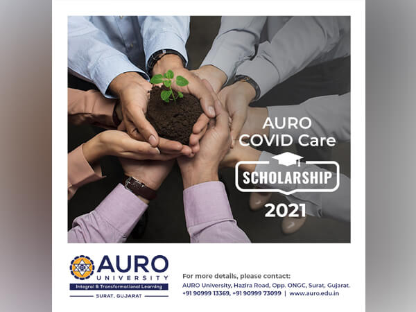Education, Higher and Technical Education Minister of Gujarat inaugurates the AURO Covid Care Scholarship 2021